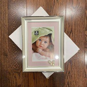 """NIB {Cupecoy Design} 4"""" x 6"""" Baby Frame"""